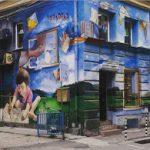 парченца софия: синята къща с хвърчилото