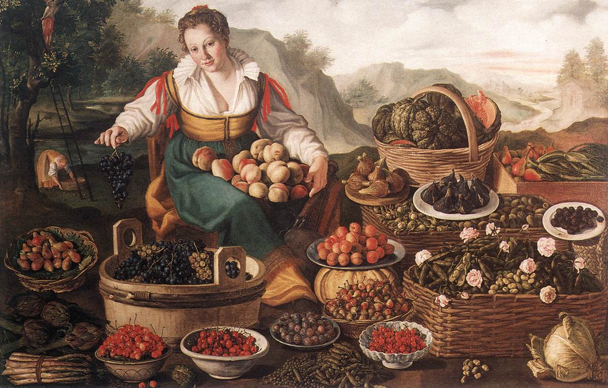 виченцо продавачката на плодове